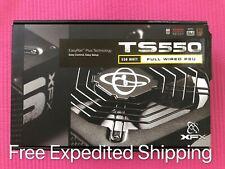New XFX TS550 XFS Full Wired Power Supply PSU 550 Watt 80 Plus Bronze Gaming