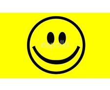 Brand New Yellow Smile Face 3 Foot by 5 Foot Flag Novelty Festival Party