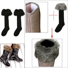 Animal Print Fleece Socks for Women