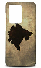 SAMSUNG GALAXY S SERIES PHONE CASE BACK COVERMONTENEGRO NATIONAL COUNTRY