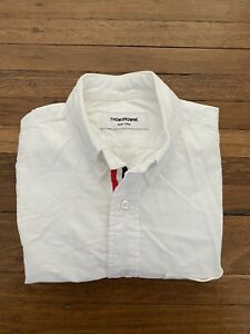 Thom Browne New York White Cotton Oxford Shirt Button Down Vintage 0 XS