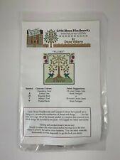 Little House Needleworks Cross Stitch Kit Plums Chart & Threads