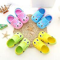 Toddler Girls Boy Caterpillar Sandals Kids Summer Beach Slippers Flip Shoes Cute