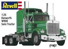 Revell 1:25 Kenworth W900 Semi Tractor Plastic Model Kit RMX851507