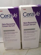 CeraVe Skin Renewing Cream Serum - Retinol Cream Serum 1.oz each (2pk) fresh