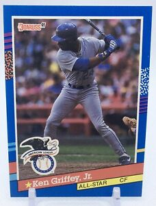 1991 Donruss - Ken Griffey Jr #49 - MLB Rare Seattle Mariners