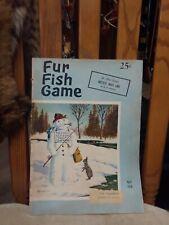 Fur Fish Game April 1958 Magazine hottest bass lake