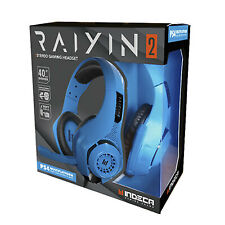 ACCESORIO  INDECA BUSINESS  PLAYSTATION 4  HEADSET RAYIN 2.0 BLUE (PS4-SW-PC-...