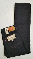 Levis Mens 501 Original Fit Stretch Jeans Black 36x34 Levi W36 L34 #005012314