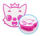 Pinkfong Soft Silicone Bath Massage Body Brush Shower Body Brush