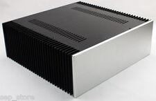 Full  aluminum amplifier enclosure WA68 class A chassis / AMP box 430*150*412mm