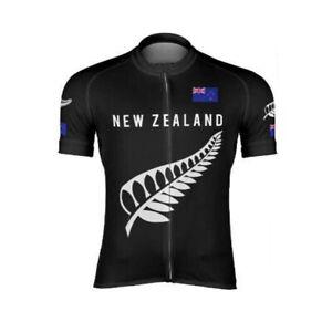 New Zealand Silver Fern Cycling Kit cycling jersey and bib shorts