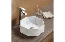 REA lavabo ceramica Cristal -lavandino da appoggio