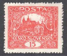 CZECHOSLOVAKIA 44e RED OG H M/M XF $55 SCV VERY NICE GUM