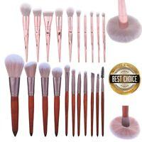 10/11pcs Pro Makeup Brushes Set Foundation Blush Face Powder Eye Shadow Brush