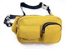 Yellow Chain Belt Bag / Fanny Pack Or Travel shoulder bag