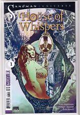 SANDMAN UNIVERSE HOUSE OF WHISPERS #1 Bill Sienkiewicz VARIANT DC Vertigo NM+