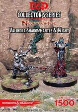 D&D Miniatures Collector's Series - Valindra Shadowmantle & Wight