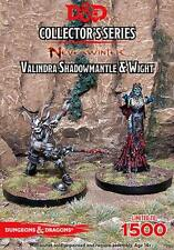 D&D Miniatures Collector's Series - Valindra Shadowmantle & Wight *NEUF/NEW*