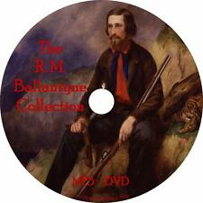 R. M. Ballantyne Audiobook Collection on 1 MP3 DVD English Unabridged Free Ship