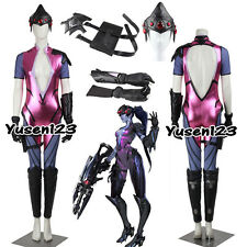 OW Game Widowmaker Emily Cosplay Costume Halloween Clothing Custom Made