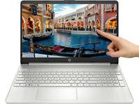 """NEW HP 15.6"""" HD Touch Intel 10th Gen i3-1005G1 3.4GHz 8GB RAM 256GB SSD Win 10"""