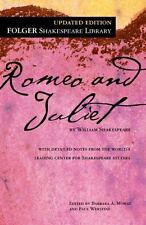 Folger Shakespeare Library: Romeo and Juliet by William Shakespeare (2011, Trade Paperback)