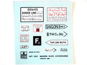 Esci 8367 Vintage Stickers Modern War Accessoires 1:72 Modélisme