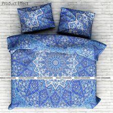 Duvet Cover Queen Size Star Mandala Elephant Design Cotton Fabric Quilt Cover