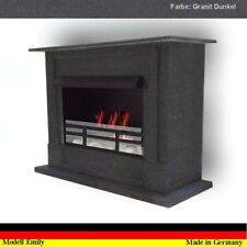 Ethanol Cheminee Fireplace Caminetto Chimenea Gel Emily Deluxe Royal Granit Noir