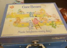 Vintage Care Bear ReCord Player 45s WORKS