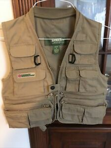 Gander mountain fly fishing, camping, photography vest size Youth Small