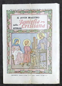 Il Divin Maestro nella settimanale Famiglia Cristiana - Anno I - N. 32 - 1932