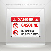 Decals Decal Danger Oxygen No Smoking Or Open Flames In This Ar st5 X4222