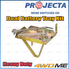 Mazda BT50 2007 - 2011 Manual PROJECTA Dual Battery Tray Auxiliary Complete Kit