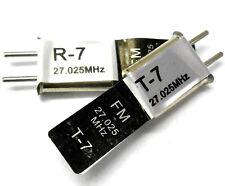 RC Remote Control 27 MHz 27.025 FM Crystal 27.025mhz
