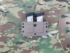 Smith&Wesson M&P Shield 9/40 Kydex Double Magazine Pouch OWB Flat Dark Earth