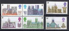 Elizabeth Ii 1969 British Architecture Cathedrals Sg 796 - 801 set Mnh Cda1615