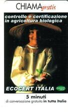 CHIAMAGRATIS - ECOCERT ITALIA - VALIDITA' DAL 01/03/2003  AL  01/09/2003