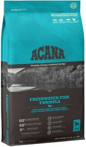 ACANA Grain-Free Freshwater Fish Whole Trout Catfish Perch Dry Dog Food 25 lbs