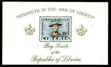 Scouts / Scautismo - Liberia 1961 : foglietto MNH **