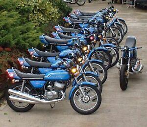 Kawasaki  1971 H2 750 Triple Headstock Decal / VIN tag