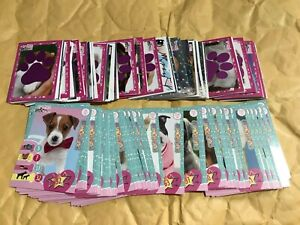 Full Set of Puppies & Me Sticker Collection PANINI 184 STICKERS & 50 CARDS