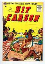Avon KIT CARSON #7 May-June 1955 vintage comic VG
