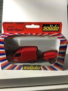 Solido 1/50 Renault Express No. 2122 Ville De Saint Malo Rescue Fire Truck New