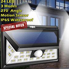 Outdoor Solar LED Lights Motion Sensor Security Flood Light Garden Yard Lamp