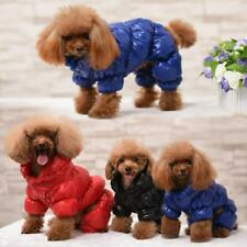 Winter Pet Clothes Jumpsuit Dog  Rompers Warm Waterproof Coats For Small Animals