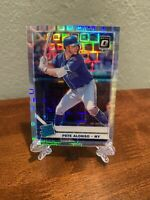 Donruss Optic 2019 Pete Alonso Rated Rookie Silver Pandora Prizm 80/99