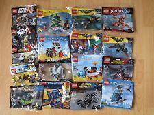 Lego promotional set Batman Superheros Marvel Star Wars minifigure polybag 30607