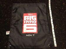 Disney Park Big Hero 6 Drawstring bag backpack New
